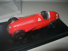 1:43 Alfa Romeo 159 World Champion J. M. Fangio 1951 Brumm in showcase TOP