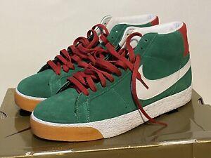2007 Nike Dunk BLAZER SB LEBANON Pine green, white, red 310801-311 Size 8.5