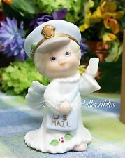 Enesco Holly Babes Ruth Morehead Mailman Angel Figurine 1998