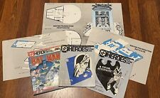 RARE DC HEROES ROLE PLAYING GAME PLAYERS HANDBOOK + MODULES + MAPS MAYFAIR RPG