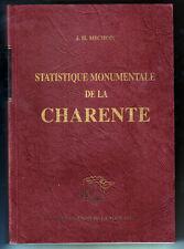 J.H. MICHON, STATISTIQUE MONUMENTALE DE LA CHARENTE