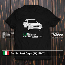 T-shirt Fiat 124 Sport Coupe (BC) '69-'72