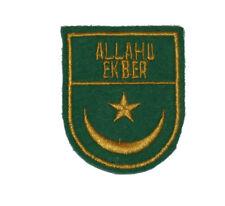Bosnian War Muslim forces sleeve patch Type 2