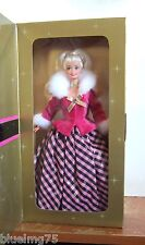 1996 Winter Rhapsody Barbie Blonde Avon Special Edition NRFB (Z198) EX VG
