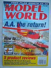 RC Model World - Radio Controlled Aircraft- May 2001 Complete with Unused Plan