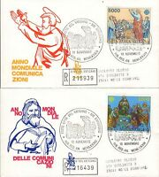 Vaticano 1983 FDC Venetia Club P.A. Comunicazioni (E)