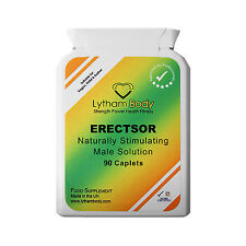 ERECTILE DYSFUNCTION 90 CAPSULES NATURAL MALE SOLUTION GENUINE PRODUCT