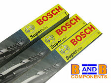 VW GOLF MK4 SET OF BOSCH SUPER WIPER BLADES C76