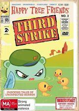 Happy Tree Friends - Third Strike (DVD, 2009)