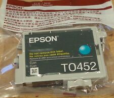 GENUINE EPSON T0452 TO452 Cyan ink cartridge from T0445 ORIGINAL PARASOL M/pack