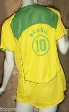 BRASILE MAGLIA XXL CALCIO WM brazilbrasile 10 XXL BRASIL MAGLIA FOOTBALL NUOVO