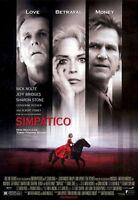 SIMPATICO MOVIE POSTER ~ ORIGINAL 27x40 Jeff Bridges Sharon Stone Nick Nolte