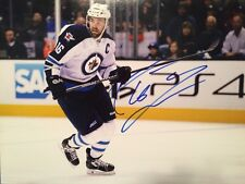 ANDREW LADD SIGNED 11x14 WINNIPEG JETS CAPTAIN AUTOGRAPH