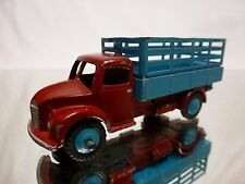 DINKY TOYS 343 DODGE FARM TRUCK - BLUE + RED - GOOD CONDITION