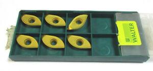 6 WALTER Wendeplatten zum Fräsen XDGT 2506160R-D57 WAP57 P35 Neu H23054