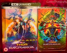 Thor Ragnarok Zavvi Lenticular Steelbook (Blu-ray + 4K UHD) Sold Out+ Art Cards
