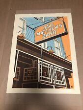 Dave Matthews Band Poster 2011  Randall's Island New York, NY Caravan N2 #/850