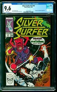 Silver Surfer 18 CGC 9.6 NM+ Galactus In-Betweener Grandmaster Ron Lim cover
