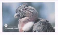 QSL HCJB World Radio Quito Ecuador 1998 on 11960 kcs Andean Condor Birkey DX SWL