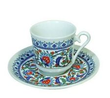 Turkish Coffee Cups and Saucer (2Set) (4Piece-----2cup+2saucer) Ottoman designed