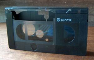 Vintage KINYO VHS-C CASSETTE TAPE ADAPTOR TO VHS