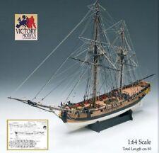 "Amati HM Granado 32"" Wooden Sloop Ship Model Kit Victory Series Bomb Vessel 1742"
