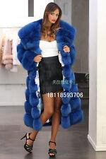 Fashion Womens Hooded Winter Faux Fur Coat Warm Silm Outdoor Long Coat Jacket