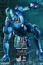 Hot Toys Iron Man Stealth Mode Mark III Diecast Sideshow Exclusive 1/6 Figure