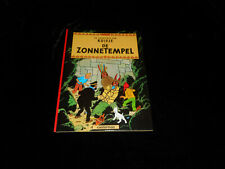 Hergé : Kuifje : De Zonnetempel Casterman DL 1977 ! Néerlandais