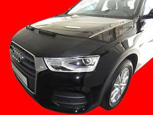 CAR HOOD BONNET BRA fit Audi Q3 Tup 8U 2011-2018 NOSE FRONT END MASK TUNING