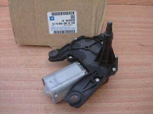 Windshield Wiper Motor Rear Right fits Opel Corsa Combo C 9225635 Genuine