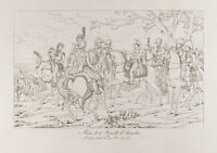 Incisione Antica 1876: Battaglia Austerlitz (Mattina) . Napoleone Bonaparte
