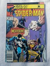 Web of Spider-man #29 NM Wolverine, Rose Hobgoblin X-men 1st Pr Marvel