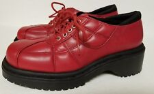 on your feet shoes/ wayward,Red chunky Oxford women's size 7.5 M