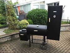 BBQ FriesStyle Smoker mit SFB, Aschekasten und Räucherschrank Gewicht 230 Kg