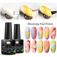MEET ACROSS 8ml Nail Art Blossom Blooming Soak Off UV Gel Polish Manicure Tips