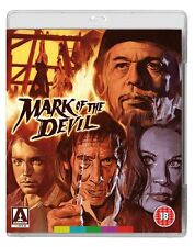 MARK OF THE DEVIL (Horror) BLURAY+DVD (DualDisc) in Tedesco NEW PRENOTAZ.