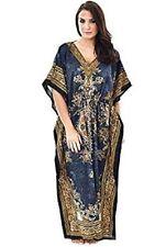 New Hippie Boho Plus Size Indian Kaftan Maxi Evening Gown Casual Long Dress