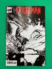 Spider-Man #1 1 Per Store Ramos Black and White Party Sketch Variant 2019