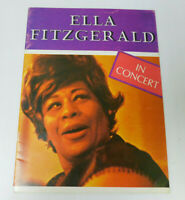 Ella Fitzgerald in concert Program and Evening with