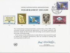 United Nations Scott #Geneva 3, First Day Cover Card 3/8/73