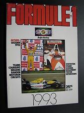 Book Formule 1 1993 door Anjes Verhey