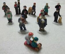 LEMAX Christmas Village Accessories - Lot of 12 Figurines