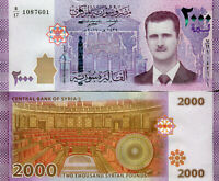 SYRIA / Syrien 2000 Pounds Lira Banknote 2017 (2019) Middle East UNC (Pick New).