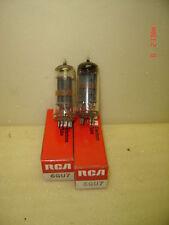 2 Pcs NOS RCA 6GU7 Audio Radio Vacuum Tubes NIB