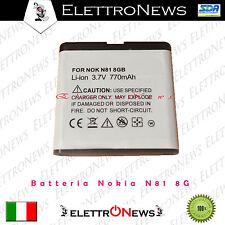 Batteria Nokia N81 8g  Nuova 770 mAh