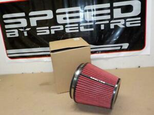 """Spectre HPR9892 Clamp-on Cold Air Intake AIR FILTER 6"""" flange x 7"""" tall<>SALE !!"""
