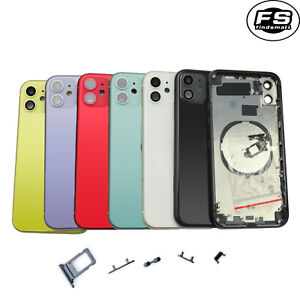 New Back Housing Battery Glass Rear Cover Frame Replacement for iPhone 11