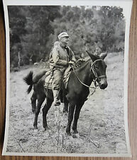 WWII PHOTO - Lt. GENERAL DAN SULTAN - NEWHKAM VALLEY BURMA 1945