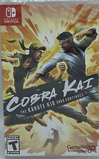Nintendo Switch Cobra Kai The Karate Kid Saga Continues Sealed FREE SHIP